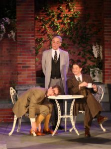 """Jim McCance, Christian Gray, and Kevin McKillip in """"Jeeves in Bloom,"""" 2010."""