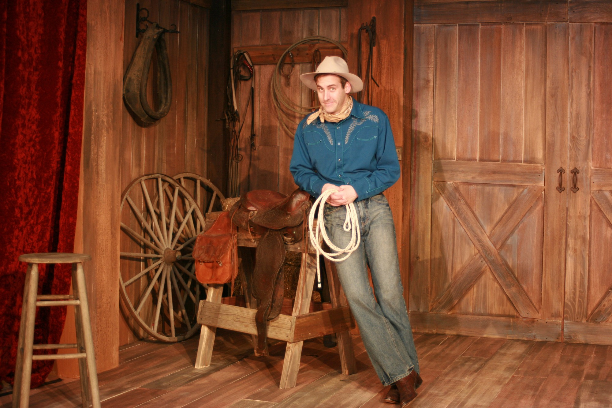 Kevin McKillip as Will Rogers