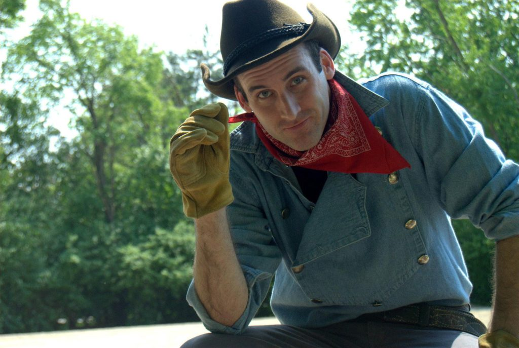 Kevin McKillip as Will Rogers by Melissa Carlson