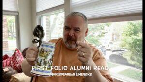 Four First Folio Theatre alumni read Shakespearean limericks